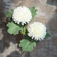 HUAYUH Simulation Blume Einzel Seide Löwenzahn