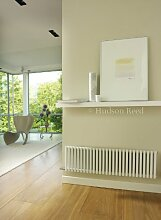 Hudson Reed Refresh Double White Designer Radiator | 1064 x 300 | HLW22 by Hudson Reed