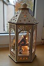Hübsche beleuchtete Weihnachtslaterne LED aus
