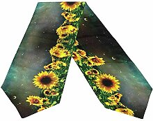 Hübsche Sonnenblume. Tischläufer,