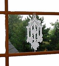 hübsches Fensterbild PLAUENER SPITZE® 14x31 cm +