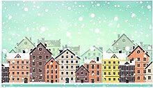 Huella Deco Christmas Teppich doormate Mat Floor,