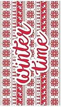 Huella Deco Christmas Teppich Runner Mat Floor,