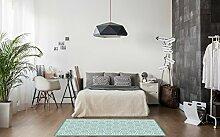 Huella Deco h1015-ca-m Fleurs Teppich Carpet Mat
