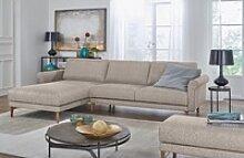 hülsta sofa Ecksofa hs.450, Armlehne Schnecke