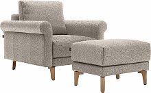 hülsta sofa Sessel hs.450, Armlehne Schnecke