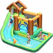Hüpfburg Wasserrutsche Spielpool