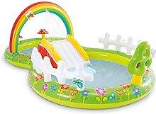Hüpfburg Wasserrutsche Spielpool, Rainbow