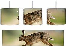 Hüpfender Hase inkl. Lampenfassung E27, Lampe mit