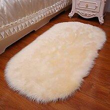 Huge Pelz-Wolldecke, künstliche Wolle Teppiche