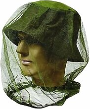 HugeStore Camouflage Mokito Kopfschutz Kopfnetz Insektenschutz Headnet Hutnetz Gesichtsmaske