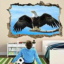 HUGF Wandtattoo Adlerflügel Vogel Wandkunst
