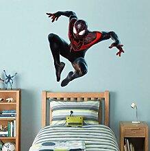 HUGF Wandtattoo Super Film Spider Moral Aufkleber