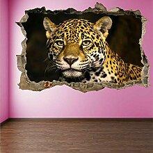 HUGF Wandtattoo Tiger Tier Wandkunst Aufkleber
