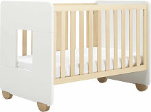 Hugs Factory Kinderbett und Schreibtisch aus Buchenholz ´´Brooklin´´ (70x140)
