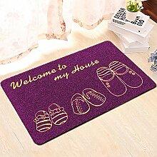 Huihong Türmatten, Cartoon Anti-rutsch Matten Wohnzimmer Schlafzimmer Küche Fußmatte Teppich Drucken Tür Fußmatte, H, 40 * 60 Cm