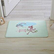Huihong Türmatten, Mode Mädchen Schlafzimmer Küche Wohnzimmer Schlafzimmer Tür Pad Anti-Slip Matte, EIN, 40 X 60 Cm
