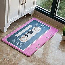 Huihong Türmatten, stilvolle Schlafzimmer Wohnzimmer Teppich Tür Teppich Fußmatte, F, 40 X 60 Cm