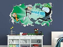 HUIHUI Kinderzimmer 3D Aussehen-Kinderzimmer