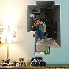 HUIHUI Wandaufkleber Cartoon 3D