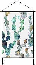 HUILAIII Dekorative Tapisserie Pflanze Hintergrund
