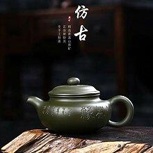 HuiQing Zhang Berühmte Teekanne mit blauem