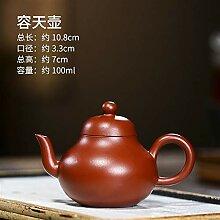 HuiQing Zhang Dahongpao-Erz-Teekanne mit hohem