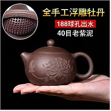 HuiQing Zhang Handgefertigte Teekanne mit