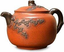 HuiQing Zhang Old Pot Teekanne (Farbe: Braun)