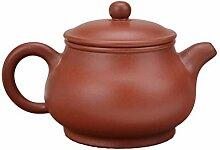 HuiQing Zhang Pan Pot Teekanne (Farbe: Braun)