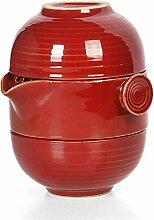 HuiQing Zhang Quik Simple Ge Teekanne für 2