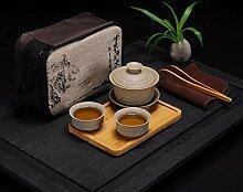 HuiQing Zhang Reise-Tee-Set, tragbar, für den