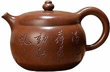 HuiQing Zhang Teekanne, Braun