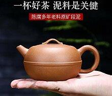 HuiQing Zhang Teekanne, handgefertigt, Viole