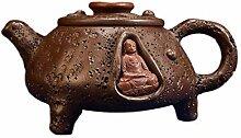 HuiQing Zhang Teekanne mit alten Töpfen und alten