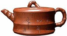 HuiQing Zhang Teekanne, Old Bamboo (Farbe: Braun)
