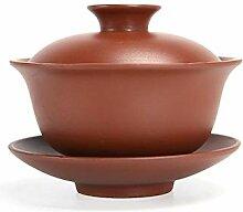 HuiQing Zhang Teekannen-Tee-Set (Farbe: Violett)