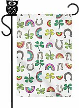 HujuTM St Patrick's Day Magic Hat Green Clover