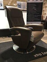 Hukla Relaxsessel motorisch verstellbar DREAMLINER Large Leder Mocca