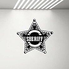 hulinhai Star Law Sheriff Abzeichen Polizei