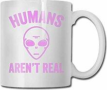 Humans-Aren 'T-Real lustige Kaffeetasse Oz