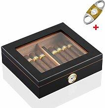 Humidor Deluxe | Zigarren-Kiste | hoch-präziser