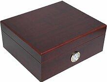 Humidor für 25 Zigarren Marke Humidoro Außenhygrometer