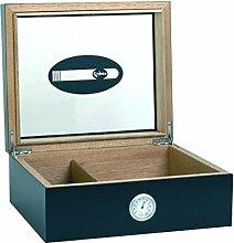 Humidor für 50 Zigarren mit Glasdeckel