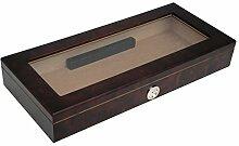 Humidor Rio für 20 Zigarren Glasdeckel Außenhygrometer