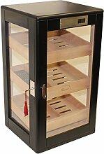 Humidor Schrank für 75 Zigarren - Marke HUMIDORO - DIGITALES HYGROMETER