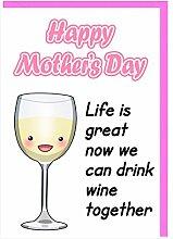 Humor Funny Mum Weintrinker Mutter 's Day