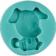 Hund Form Silikon Fondant Form Gebäck Kuchen Form DIY Liquid Silikon Form Kuchen Werkzeuge