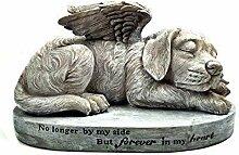 Hund Gedenkstein, Engel Pet Statue, schlafender