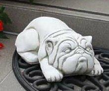Hund Mops (S146) Hunde Gartendeko Tierfiguren